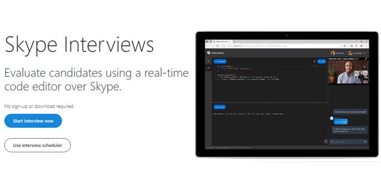 Skype Interviews Banner